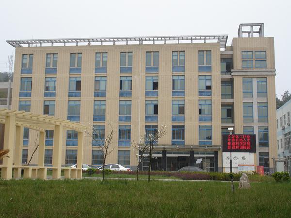 学校五层办公楼效果图